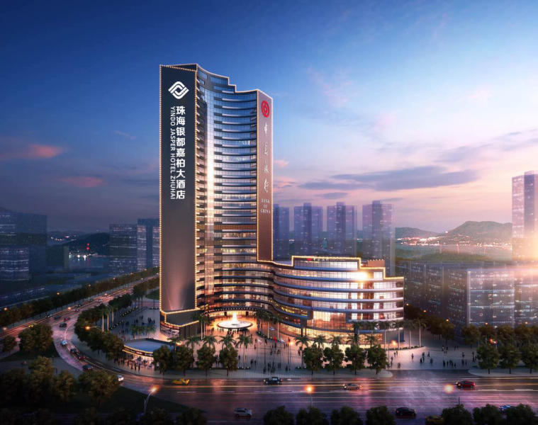 Yindo Grand Jasper Hotel Zhuhai Over view